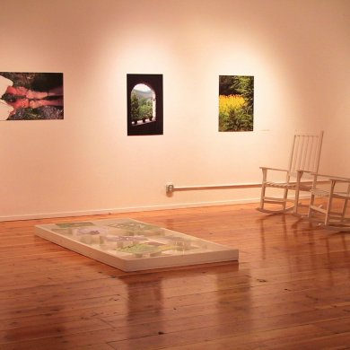 """In the Garden of One World: visual-art installation"" at La MaMa La Galleria May-July 2008"
