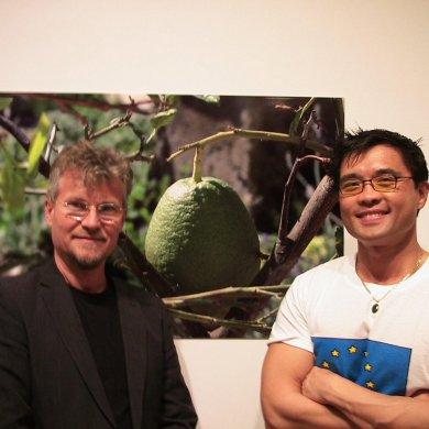 Artists Nic Ularu and Randy G.