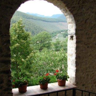 """""""Ellen's Garden"""" (Umbria, Italy, 2007)"""