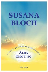 Book cover Alba Emoting by Susana Bloch Photo courtesy of Pat Angelin