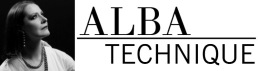 Patricia Angelin and her Alba Technique logo   Designed by Aaron Epstein